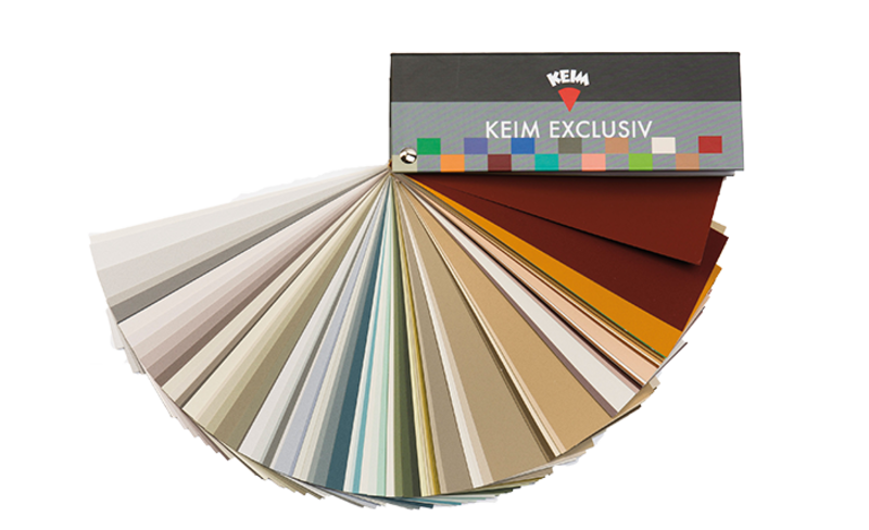 KEIM kleurenwaaier voor een houtkachel in kleur