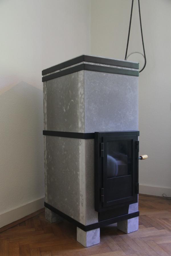 schone houtkachel - massakachel met stralingswarmte
